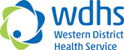 "Western </p> <p>District Health Service"" width=""124″ height=""50″></a>     <a href="
