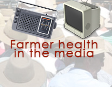 Latest Farmer Health in the  news  & media  2014
