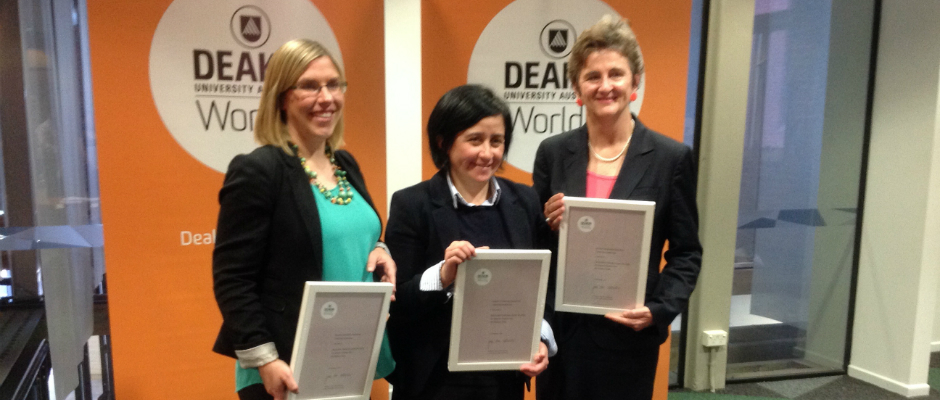 Farmer Health course takes out one of the VC Awards for Teaching Excellence at Deakin