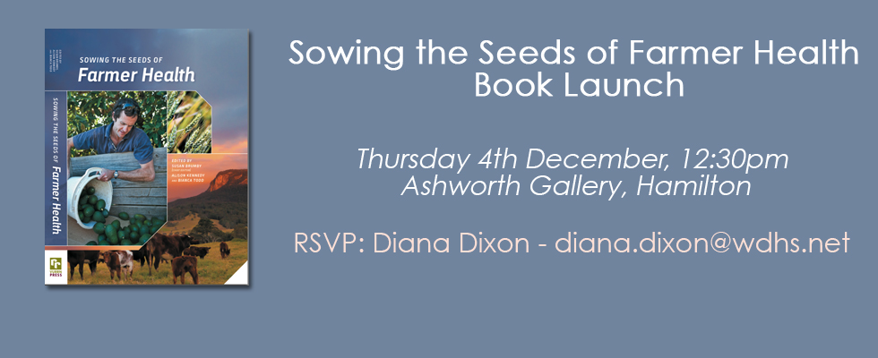 Sowing the Seeds of Farmer Health Book Launch