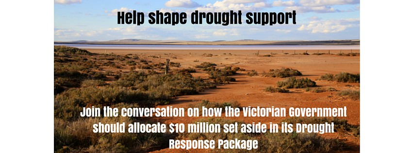 Join the conversation on drought funding