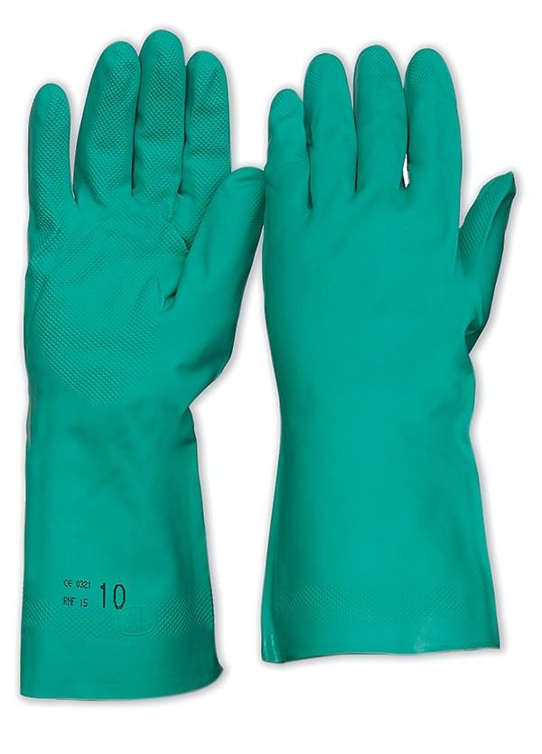 Nitrile Chemical Gloves 33cm
